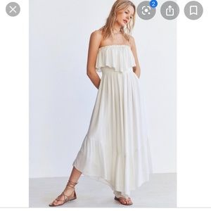 Urban Outfitters kimchi blue strapless jumpsuit
